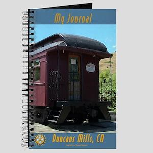Duncans Mills Railcar Sunspeed Journal