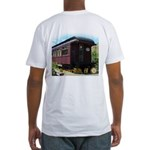 Duncans Mills Railcar Fitted T-Shirt
