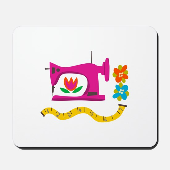 VINTAGE SEWING Mousepad