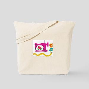 VINTAGE SEWING Tote Bag