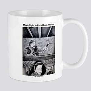 Movie Night in Republican Heaven coffee mug