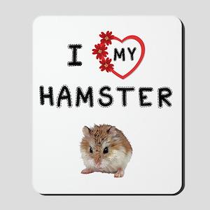 Love My Hamster Mousepad