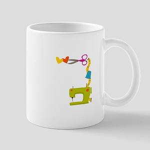 SEWING MACHINE CORNER Mugs