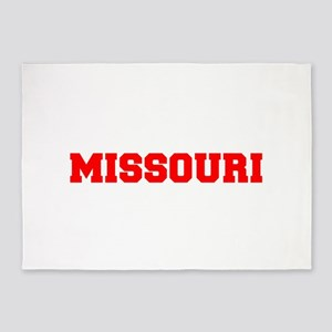MISSOURI-Fre red 600 5'x7'Area Rug