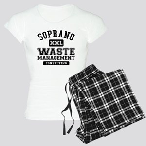 Soprano Waste Management Women's Light Pajamas