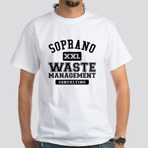 Soprano Waste Management White T-Shirt