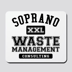 Soprano Waste Management Mousepad