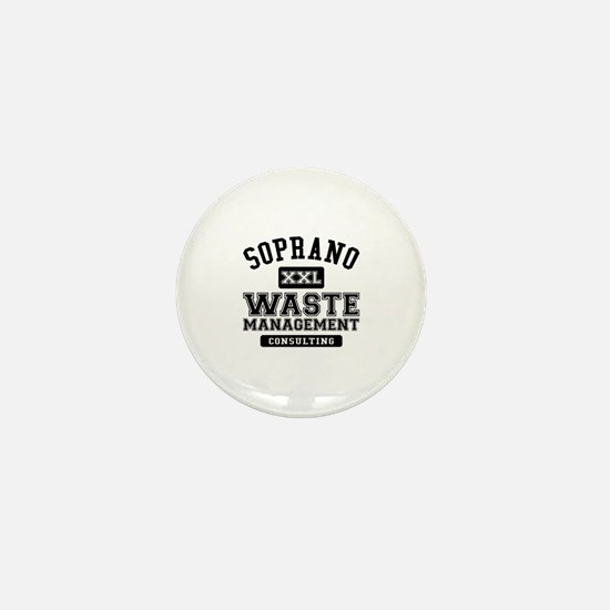 Soprano Waste Management Mini Button