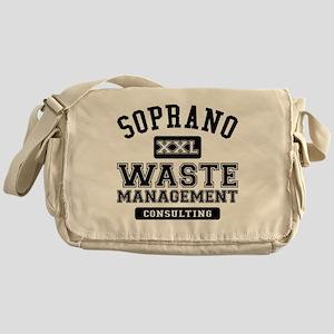 Soprano Waste Management Messenger Bag