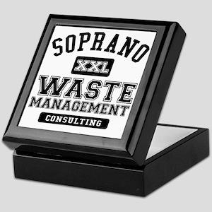 Soprano Waste Management Keepsake Box