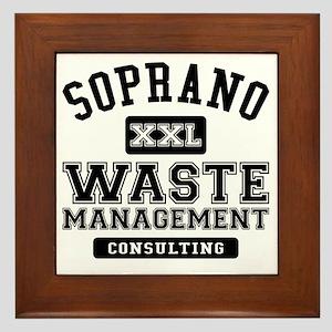 Soprano Waste Management Framed Tile