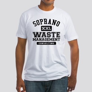 Soprano Waste Management Fitted T-Shirt