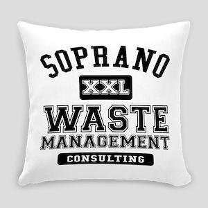 Soprano Waste Management Everyday Pillow