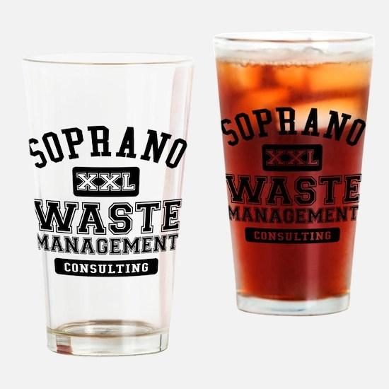 Soprano Waste Management Drinking Glass
