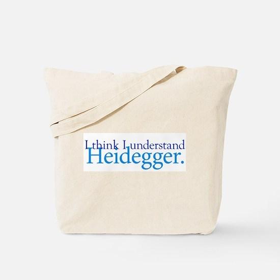 Understanding Heidegger Tote Bag