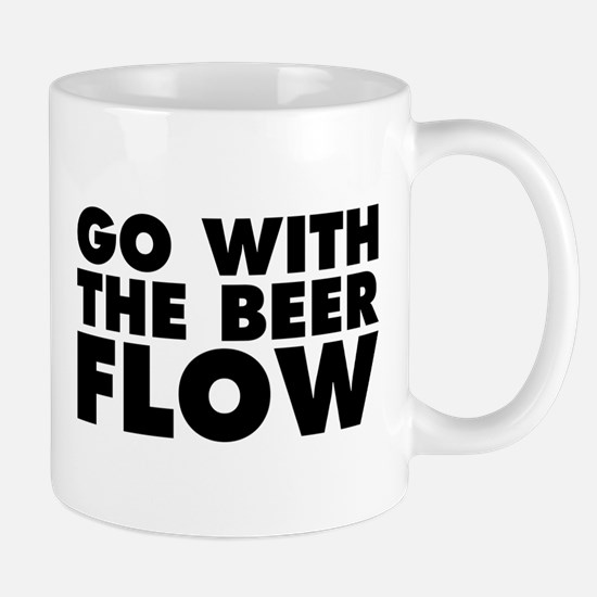 Go With The Beer Flow Mug