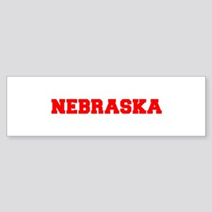 NEBRASKA-Fre red 600 Bumper Sticker