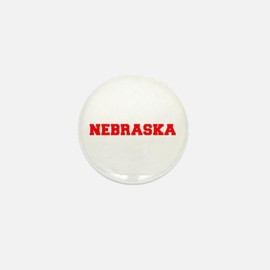 NEBRASKA-Fre red 600 Mini Button
