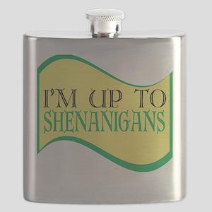 I'm up to Shenanigans Flask