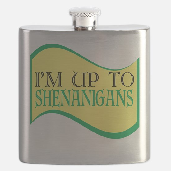 I'm up to Shenanigans Flask