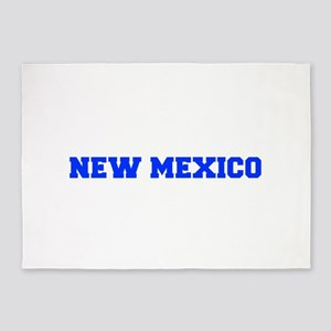 New Mexico-Fre blue 600 5'x7'Area Rug