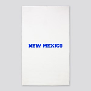 New Mexico-Fre blue 600 Area Rug