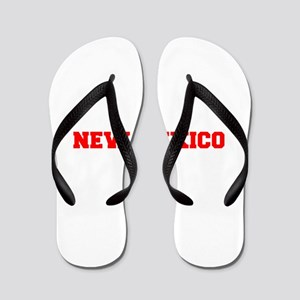 NEW MEXICO-Fre red 600 Flip Flops
