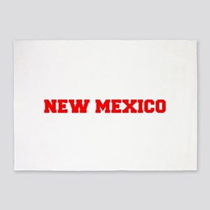 NEW MEXICO-Fre red 600 5'x7'Area Rug