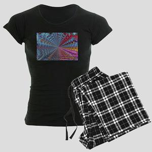 Rainbow Dreams Women's Dark Pajamas