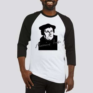 Martin Luther Bust and Signature Baseball Jersey