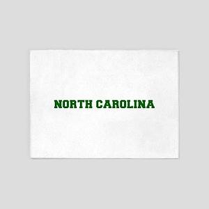 NORTH CAROLINA-Fre d green 600 5'x7'Area Rug