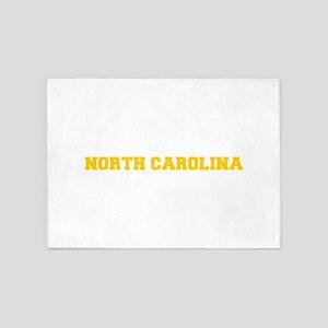 NORTH CAROLINA-Fre gold 600 5'x7'Area Rug