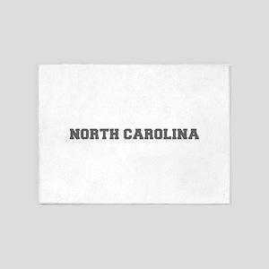 NORTH CAROLINA-Fre gray 600 5'x7'Area Rug