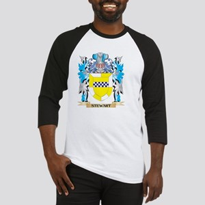 Stewart- Coat of Arms - Family Cre Baseball Jersey