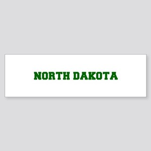 NORTH DAKOTA-Fre d green 600 Bumper Sticker