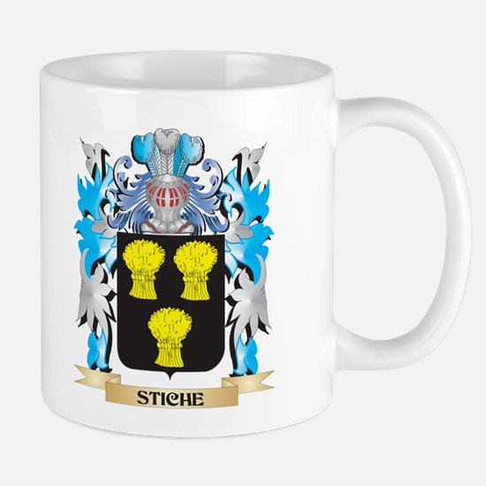 Stiche Coat of Arms - Family Crest Mugs