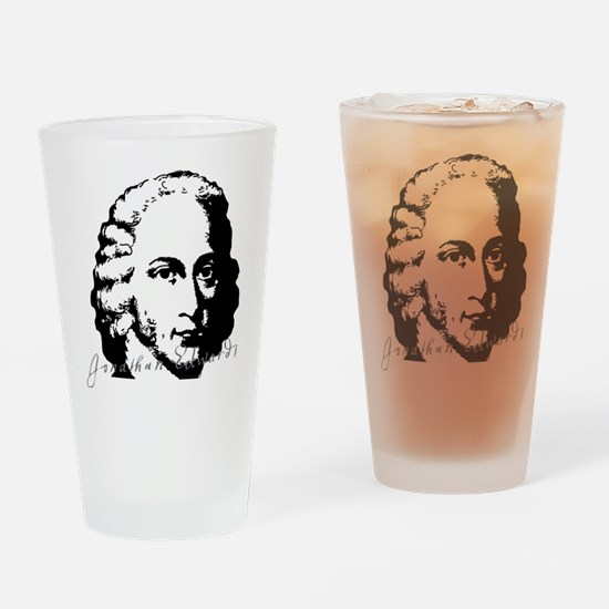 Jonathan Edwards Bust with Signature Drinking Glas