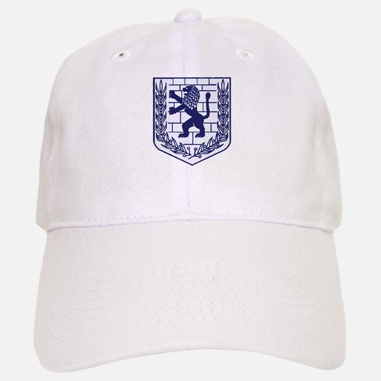 Lion of Judah White Baseball Baseball Cap