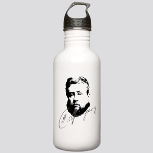 Charles Spurgeon Bust with Signature Water Bottle