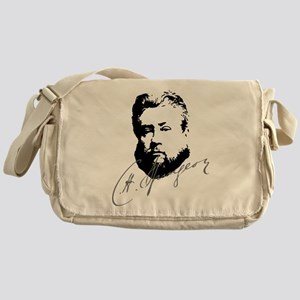 Charles Spurgeon Bust with Signature Messenger Bag