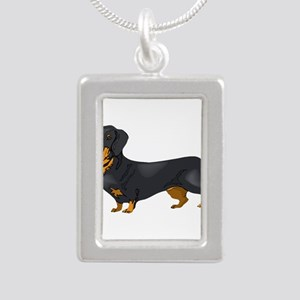 Black and Tan Dachshund Necklaces