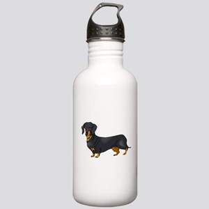 Black and Tan Dachshun Stainless Water Bottle 1.0L