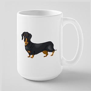 Black and Tan Dachshund Mugs