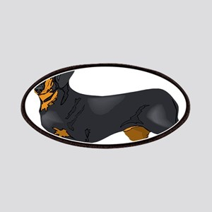 Black and Tan Dachshund Patch