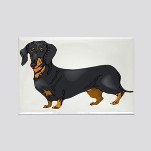 Black and Tan Dachshund Magnets
