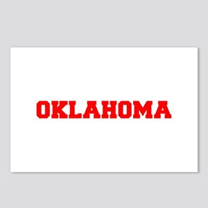 OKLAHOMA-Fre red 600 Postcards (Package of 8)