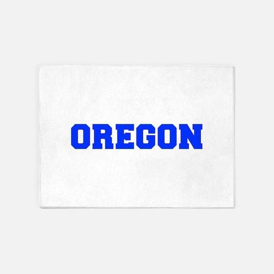 Oregon-Fre blue 600 5'x7'Area Rug