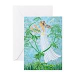 Fairy Music Greeting Card