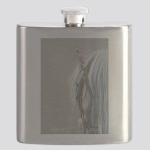 Gray on Gray Flask