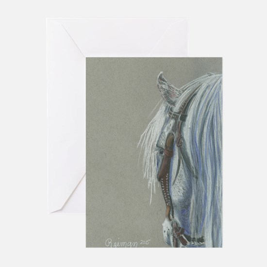 Gray on Gray Greeting Cards